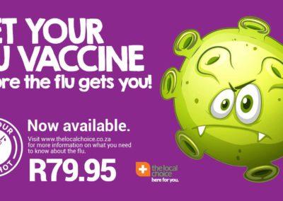 Flu Vaccine 2018 TLC Rox