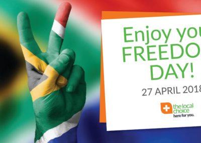 Freedom Day SA TLC
